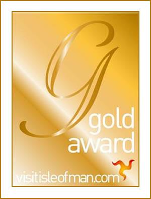Isle of Man Accommodation Gold Award Winner